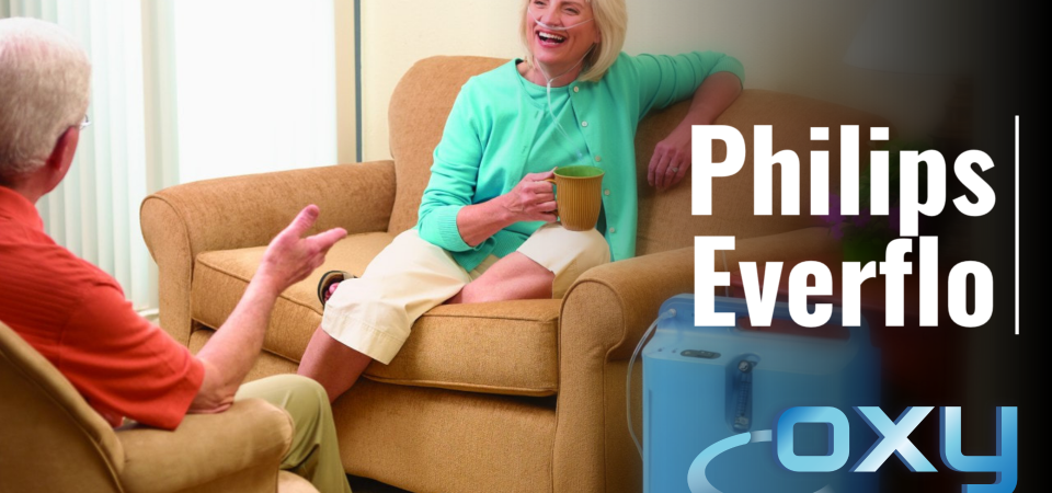 Philips Everlo Oxygen concentrator