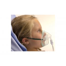 Child Oxygen Mask with 2.1 meter hose