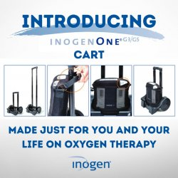 Inogen G3|G5 trolly cart